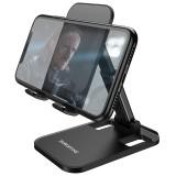 BOROFONE BH27 Portable Folding Telescopic Liftable Desktop Mobile Phone Holder Stand for iPhone 12 XS 11 Pro POCO X3 NFC