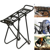 For 24-27″ Bike Aluminum Alloy Bicycle Racks Bicycle Luggage Carrier MTB Bicycle Mountain Bike Road Bike Rear Rack Cycling Accessories