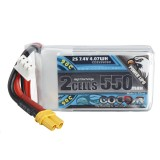 CODDAR 7.4V 550mAh 2S 90C High Discharge Lipo Battery XT30 for iFlight Cinebee 75HD Cinewhoop