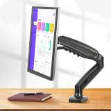 LCD Bracket Pneumatic Universal Rotary Lifting Telescopic Computer Bracket Display Bracket (with double USB3.0 interface)
