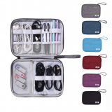Travel Digital Storage Bag Closet Organizer Case for Headphones Storage Bag Portable Zipper Charger Data Cable USB Cosmetics