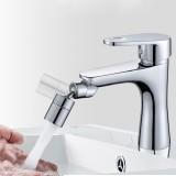 720 Degree Universal Rotating Faucet Tap Filter Tip Water Bubbler Pressurization Dual-function Anti-splash Economizer