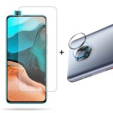 Bakeey Grey Anti-Scratch Rear Phone Lens Protector + HD Clear 9H Anti-Explosion Tempered Glass Screen Protector for Poco F2 Pro / Xiaomi Redmi K30 Pro
