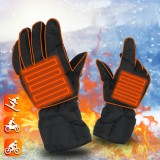 4.5V Smart Electric Heated Gloves Winter Ski Cycling Keep Warm Battery Powered Heating Gloves 5 Fingers Man Gloves