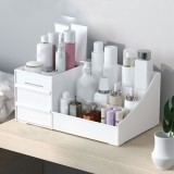 Makeup Drawers Organizer Storage Box Jewelry Desktop Container Cosmetic Case