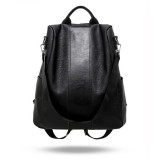 Women Vintage Backpack Leather Shoulder Bag Anti-Theft Casual Rucksack Pack Handbag Ladies Satchel Bag