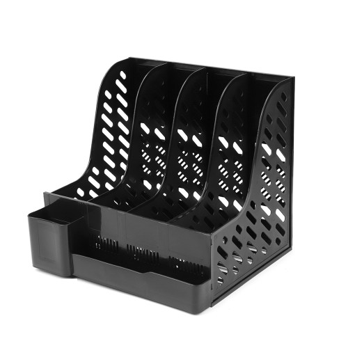 File Holder Document Tray Storage Pen Holder Box Organize Desk Office Stationery Shelf School Office Supplies