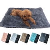 60X40cm Pet Cat Dog Nest Dual Use Warm Soft Sleeping Bed Pad Pet Non-slip Breathable for Cat House Dog Sleeping Washable Mat Blanket