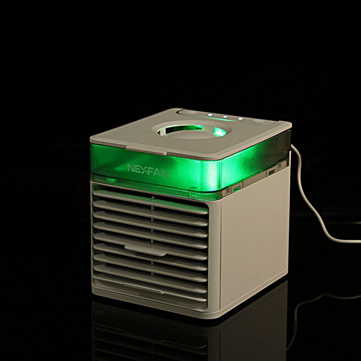 USB UVC Air Cooler Sprayer Night Light Portable Mini Air Conditioner Humidifier Sterilization Mist Fan Desktop Office