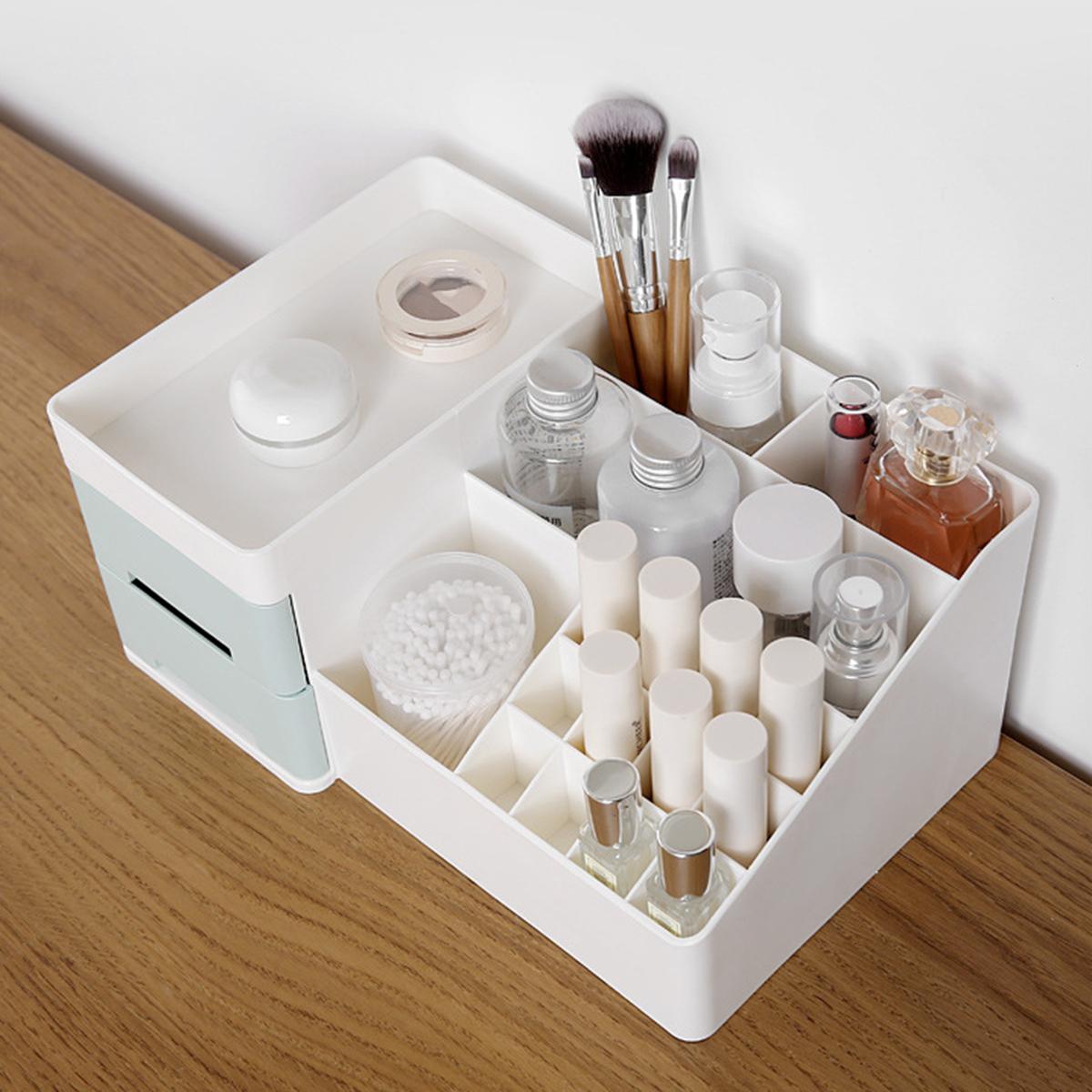 Cosmetics Storage Box Drawer Makeup Holder Organizer Desktop Dressing Table Nail Polish Lipstick Storage Box Jewelry Case