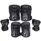 PROPRO 6Pcs/Set Ski Skating Protective Gear Set Elbow Pads Bicycle Skateboard Ice Skate Roller Knee Protector For Adult Kids