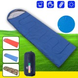 Envelope Outdoor Camping Adult Sleeping Bag Portable Ultra Light Waterproof Sleeping Bag With Cap Drop Shipping for Travel Hiking Tool