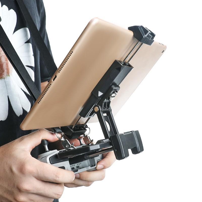 RCSTO Tablet Bracket with Sunshade Hood Cover for FIMI/DJI Mavic Air /Mavic Mini 2 Remote Controller