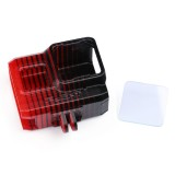 iFlight Hornet/Green Hornet Frame Parts TPU Black Red Gradient Protective Case for GoPro5/6/7/8 With Lens Protection Cover/UV