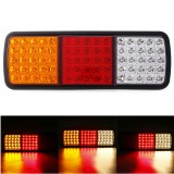 1PC 12V 75 LED Tail Light Brake Stop Reverse Indicator Lamp for Truck Boat Trailer