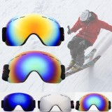 Adult Ski Glasses Anti Fog Lens UV Skiing Goggles Snow Skiing Protect Windproof Tools