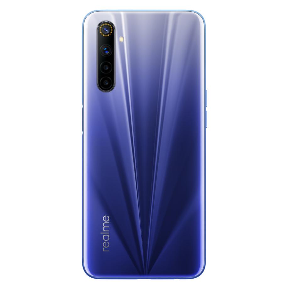Realme 6 EU Version 6.5 inch FHD+ 90Hz Refresh Rate 4GB 128GB Helio G90T NFC Android 10 4300mA 64MP AI Quad Camera 4G Smartphone