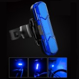 BIKIGHT 30LM Bike Tail Light Waterproof USB Rechargeable Ultra Bright 4 Modes LED Bicycle Rear Light for MTB Road Bikes