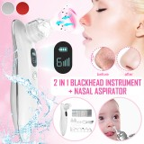 Bakeey All-in-one Blackhead Skin Cleaner LCD Display Baby Nasal Aspirator For Cleaning