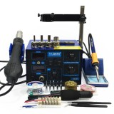 Saike 952D AC 110V / 220V 760W Soldering Station BGA 2 in 1 SMD Rework Soldering Station Hot Air Heater