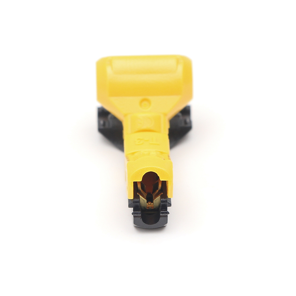 T-3 Wire Cable Connector Terminals Crimp Lock Quick Splice Electrical 16-15AWG 1.5mm2 Family lights Wiring Kit Tool