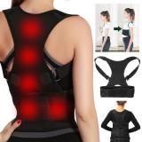 Adjustable Back Support Posture Corrector Belt For Men Women Portable Spine Back Shoulder Lumbar Posture Correction
