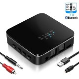 Bakeey B20 bluetooth 5.0 Audio Transmitter Receiver HD Low Latency Stereo TV PC Car Wireless Adapter Bluetooth Audio 3.5mm Adapter for TV Headset for Smart Phone Tablet