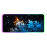 Fluorescent Trees Mouse Pad RGB Non-Slip Thickened Rubber Keyboard Mouse Gaming Pad Desktop Mat