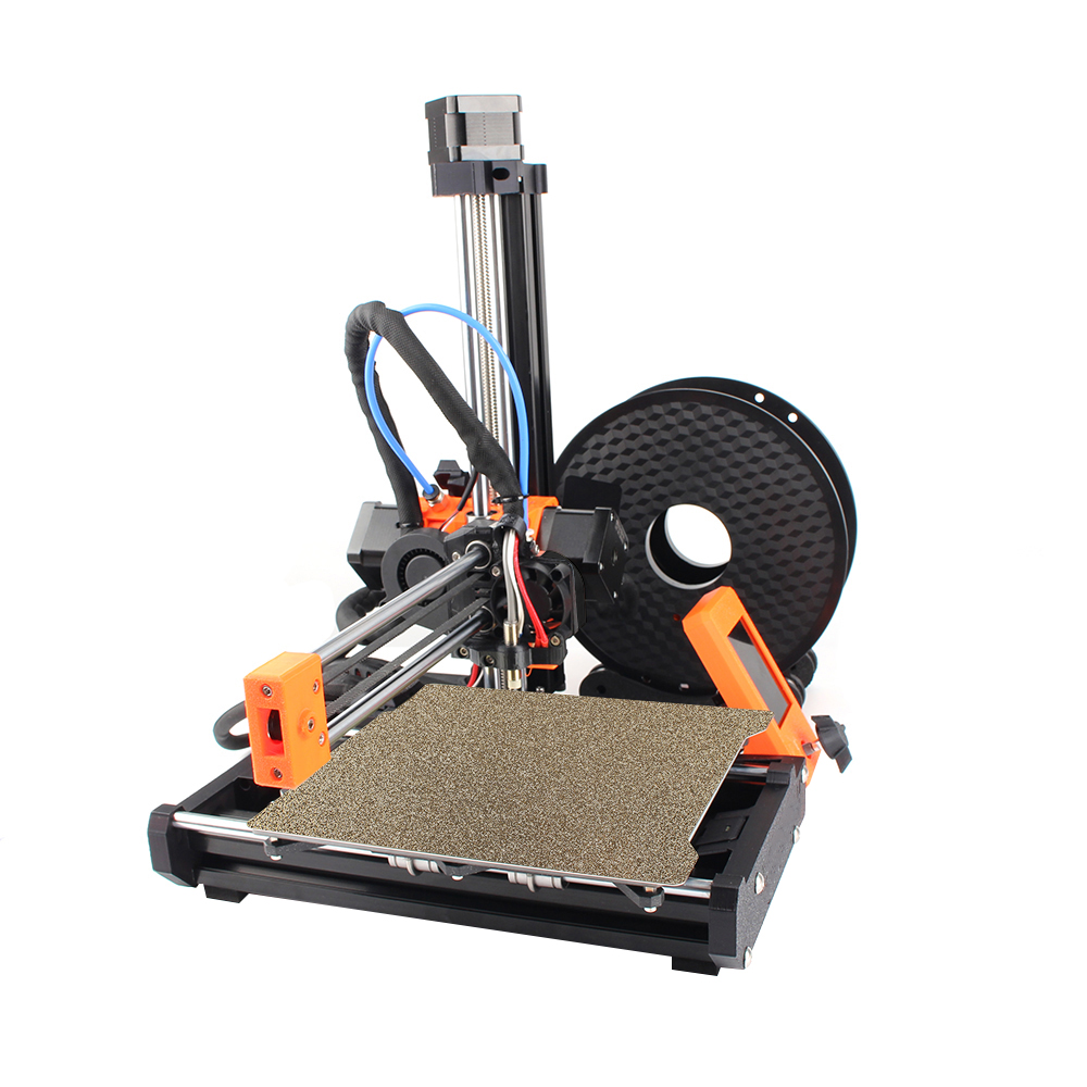 Clone Prusa Mini 3D Printer 2.8inch Color Screen DIY Complete Kit 180*180*180mm Print Size MW Power Supply