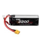 Alien Model 11.1V 2200mAh 3S 120C Lipo Battery XT60 Plug for RC Drone