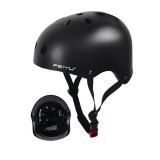 FEIYU Kids Ultralight Round MTB Bicycle Helmet Mountain Road Bike Helmet Safety Cap Children's Sport Protective Gear for Cycling Ice Skating