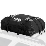 Waterproof Roof Top Carrier Cargo Luggage Traveling Hiking Bag (15 Cubic Feet) For Vehicles With Roof Rails