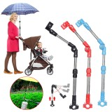 Golf Umbrella Stand Cart Baby Umbrella Holder Car Trolley Umbrella Bracket Wheelchair Umbrella Stand Hiking Travel
