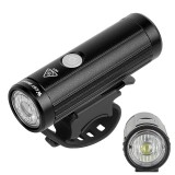 WEST BIKING 350LM USB Charging Bicycle Headlight Cycling Flashlight MTB Front Lamp Waterproof Outdoor Night Riding Equipment