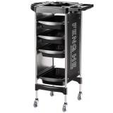 FENGHE G23230 Storage Cart 4 Drawers Salon Trolley Beauty Hair Dryer Holder Stylist Equipment