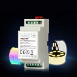 MiBoxer DC12V-24V LS2S 5 in 1 LED Controller(DIN Rail) for Single Color RGB RGBW RGB+CCT Strip Light