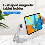 Bakeey Magsafe Desk Tablet Phone Holder Aluminum Alloy Support Desktop Live Broadcast Stand For iPad Smartphone