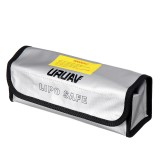 155*80*90mm URUAV Battery Explosion-proof Bag Lipo Storage Portable Fireproof Safety Bag