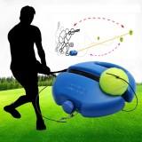 Single Tennis Trainer Retractable Rebound Tennis Training Tool Sport Practice Outdoor