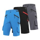 ARSUXEO Men's Cycling Shorts Loose Fit Downhill MTB Mountain Bike Shorts Outdoor Sport Bicycle Short Pants Water Repellent