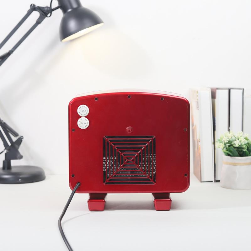 Bakeey 9.5'' 1000W Heater Portable Mini Electric Heater PTC Fan Air Home Office Winter Warmer