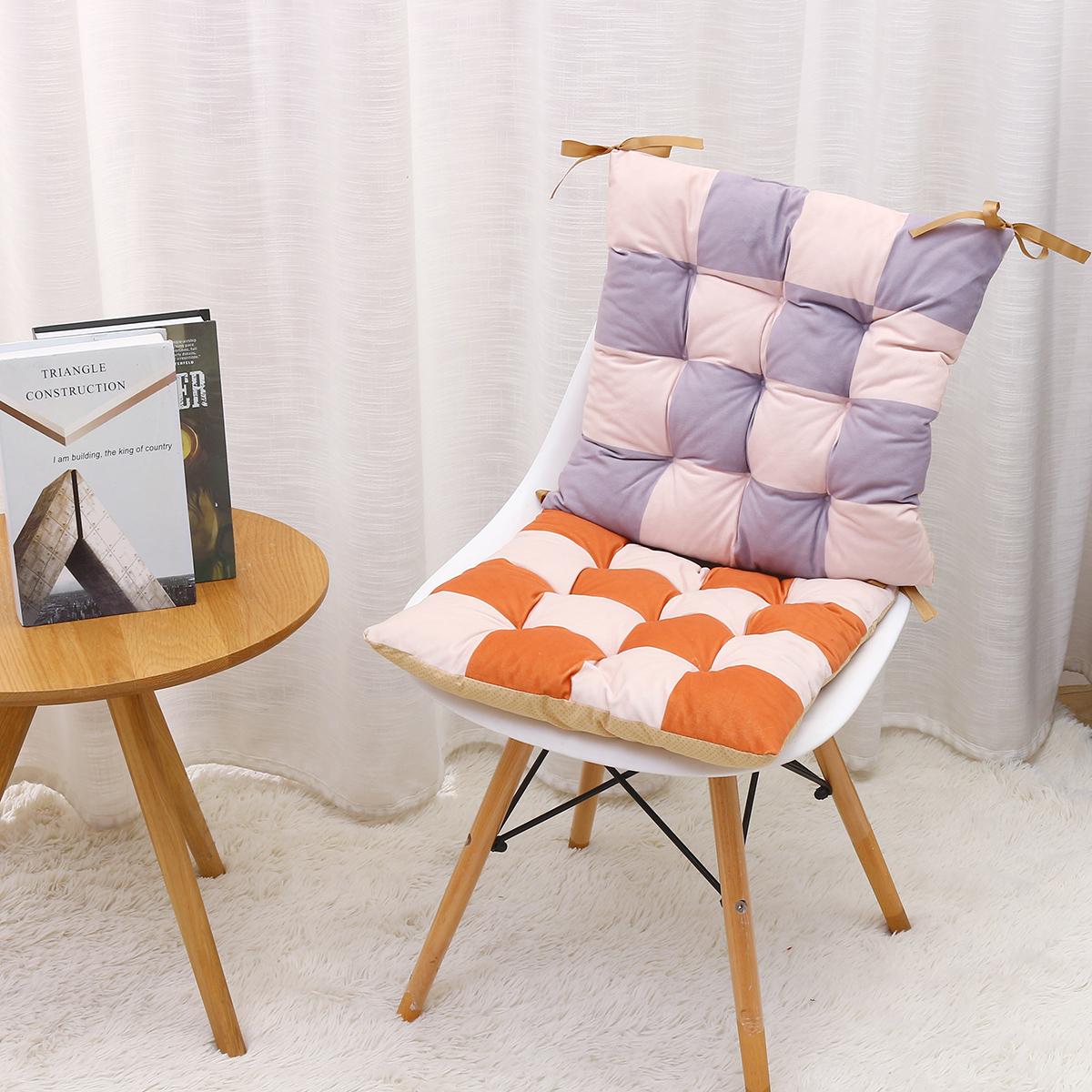 6 Colors Non-slip Square Seat Cushion Suitable Home Office Restaurant Bar