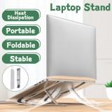 Adjustable Foldable Laptop Stand Non-slip Desktop Notebook Holder For Macbook