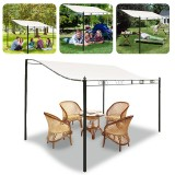 Rectangle Tent Sunshade Waterproof Sun Shade Canopy Outdoor Garden Terrace Cover Top Shelter
