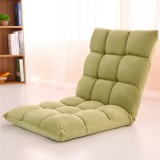 Folding Lazy Lounger Sofa Tatami Lounge Bedroom Chair Floor Home Small Breathable Removable Sofa Bed Back Chair