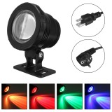 20W AC85-265V RGB LED Spot Lights Underwater Pool Fountain Pond Lamp Waterproof + Remote