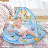 Baby Gym Play Mat Educational Rack Toys Baby Gym Mat With Music Lights Infant Fitness Carpet Gift for Kids