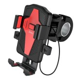 HOCO Motorcycle Bicycle Phone Holder For iPhone 11 Pro Universal Phone Holder Bike Handlebar Clip Stand GPS Mount Bracket