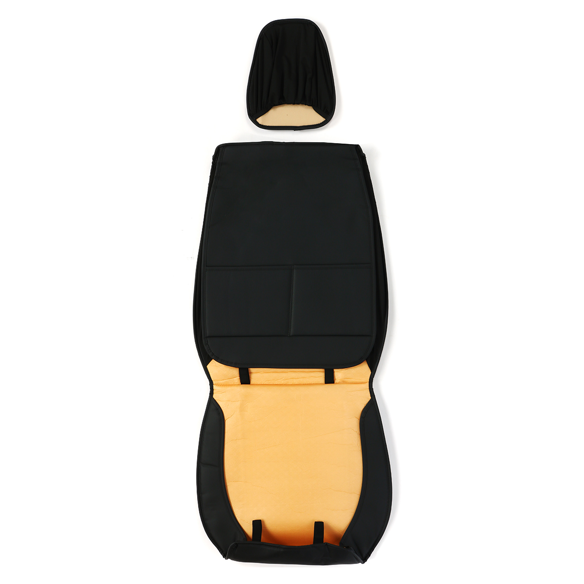 Universal 5 Seats Waterproof Car Front Seat Mats Protector Cover PU Leather Pad