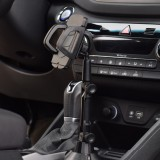 Universal 360 Rotation Flexible Arm Car Phone Mount Gooseneck Cup Holder for 5-9.5cm Width Cell Phone